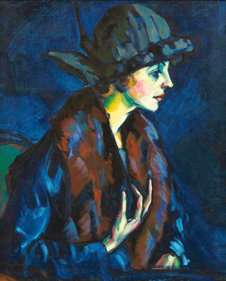 NAISE PORTREE | 1922 | ÕLI LÕUENDIL