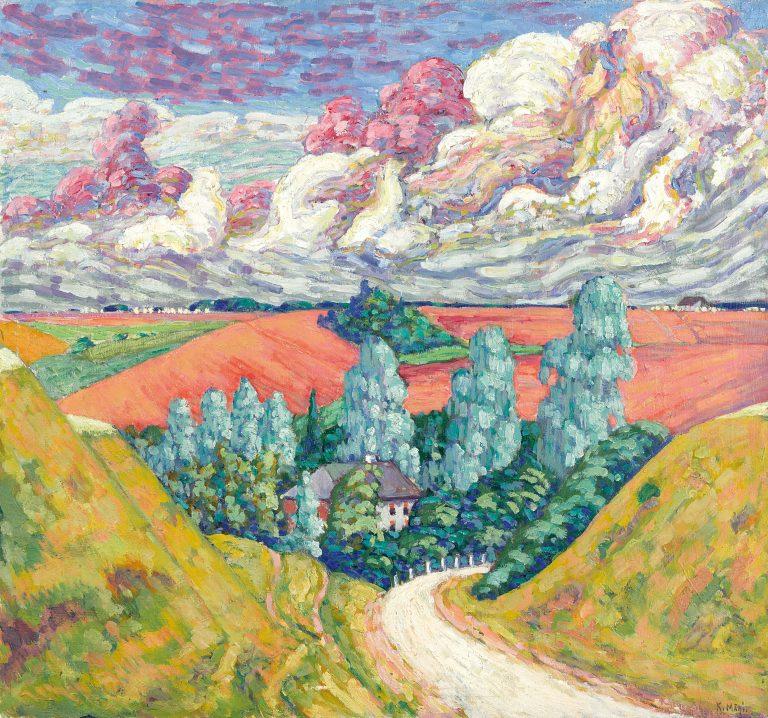 TEEL VILJANDIST TARTUSSE | 1915 | ÕLI LÕUENDIL