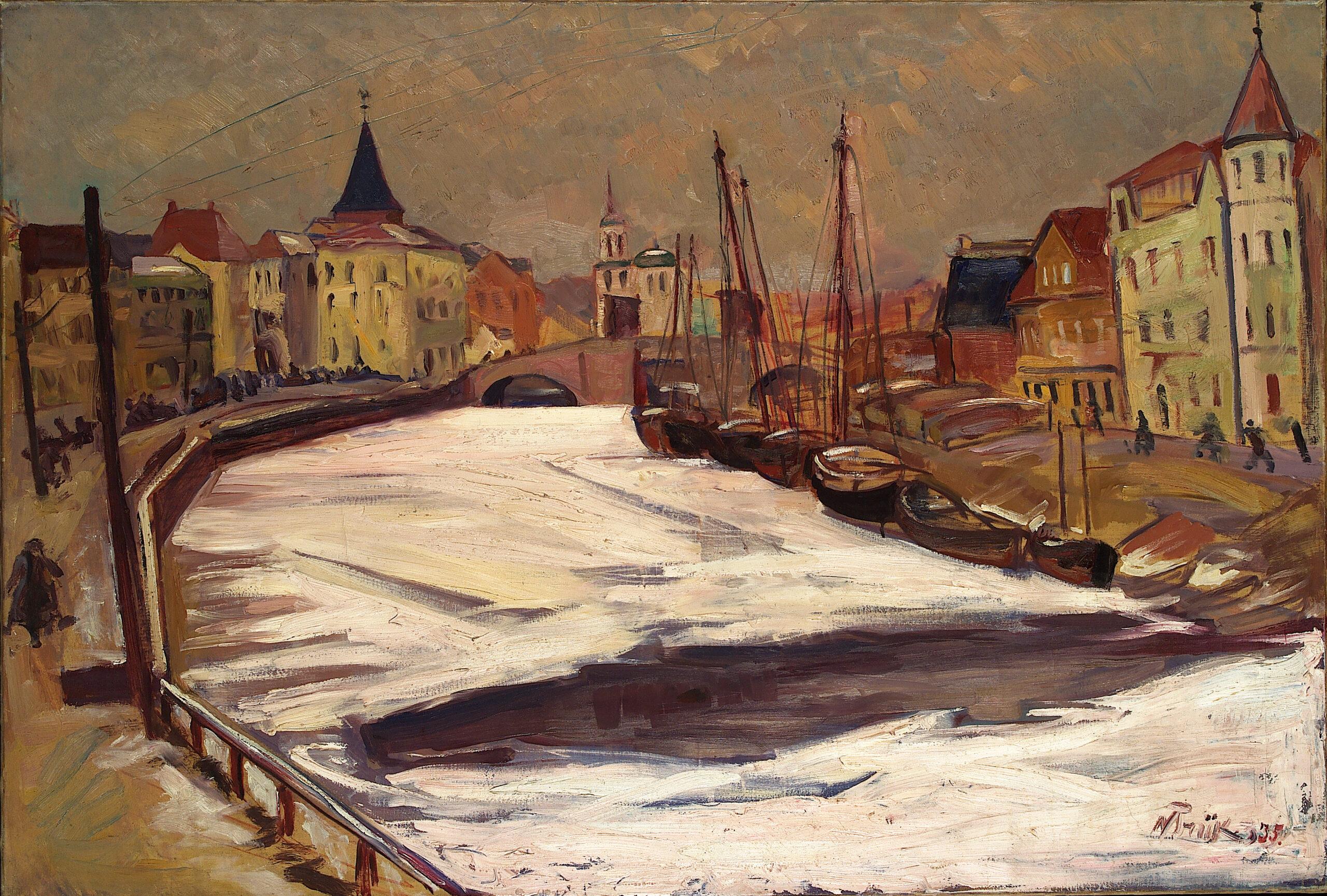 TALVINE TARTU EMAJÕEGA | 1935 | ÕLI LÕUENDIL